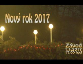 VIDEO – Nový rok 2017 a ohňostroj v Závode