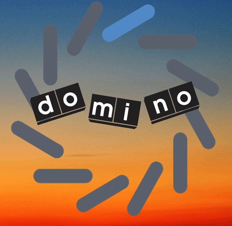 Follow Us on DOMINO