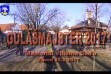 VIDEO – FOTOGALÉRIA a VÝSLEDKY Gulášmajster 2017 – Memoriál Viliama Boďu