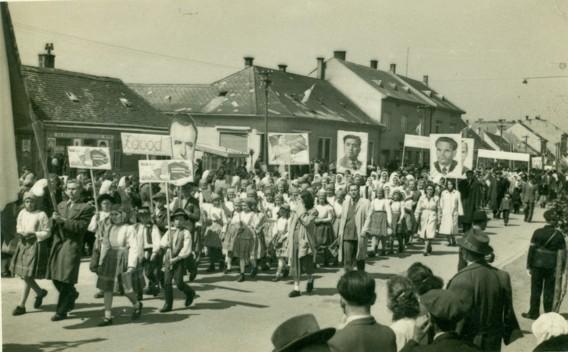 1.máj 1954 Malacky