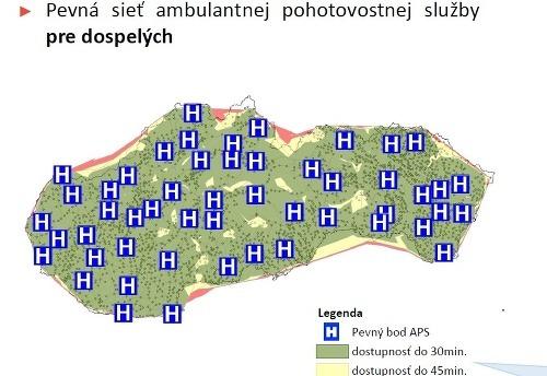 Zabezpečenie ambulantných pohotovostí pre obyvateľov BSK