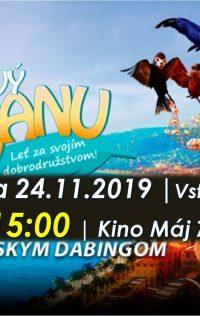Kino pre deti | 24.11.2019 – Bleskový Manu (už o 15:00)