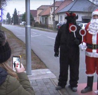 VIDEO / FOTO | Dopravný Mikuláš