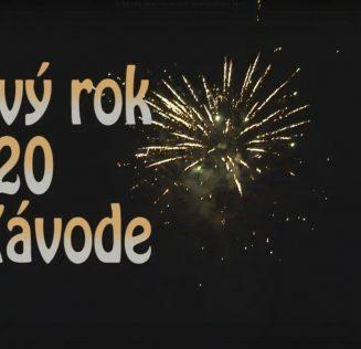 VIDEO | Novoročný ohňostroj 2020