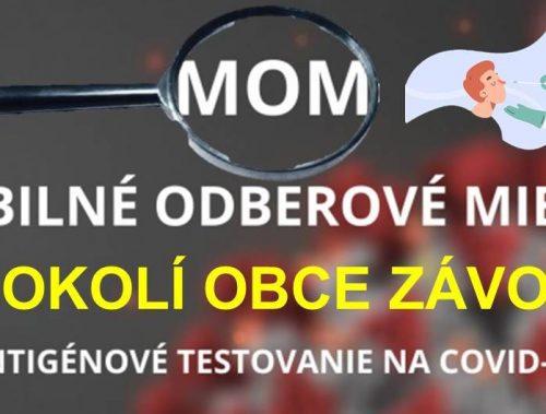 Najbližšie MOM otvoria od 06.07.2021