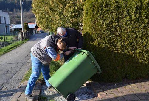 OZNAM   Nedostupné nádoby na komunálny odpad počas inštalácie RFID čipov